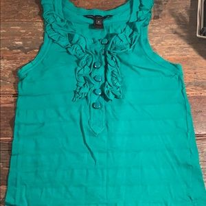 Marc by Marc Jacobs Green Tank Top Size Small